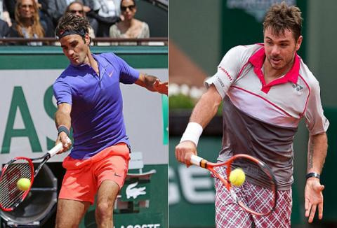 Federer to face Wawrinka in all Swiss final at Indian Wells
