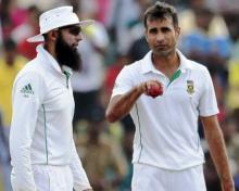 Amla, Tahir dazzle as Proteas hammer Windies in ODI tri-series