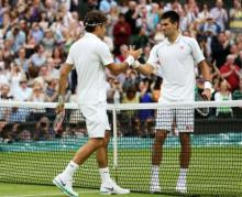 Federer believes floundering Djokovic `clearly beatable` at Wimbledon
