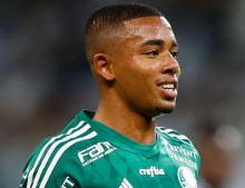 Brazil footballer Jesus bids farewell to Palmeiras ahead of Man City move