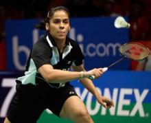 Saina survives Indonesian test to reach Macau Open quarters