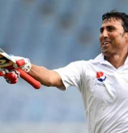 Younis Khan becomes first Pakistani to score 10000 Test runs