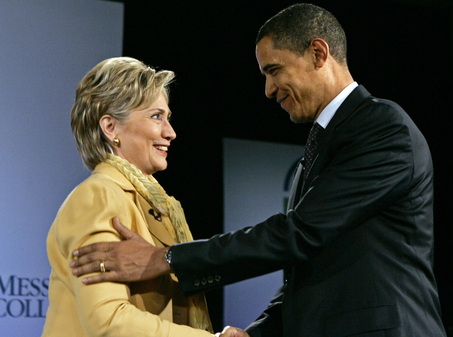 Clinton endorses Obama