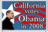 Rasmussen Reports: Obama Leads McCain By 13 % Points In California