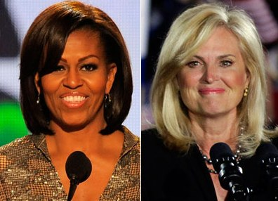 Americans prefer Michelle Obama and Ann Romney to their husbands