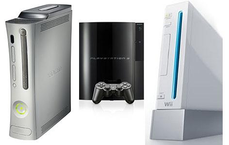Xbox 360 beats nintendo wii sony playstation3 in sales for Console de salon
