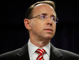 Rod Rosenstein set to be next U.S. Deputy Attorney General