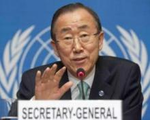 Ban Ki-moon urges UN staff to be voice for voiceless