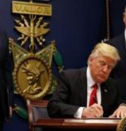 Trump Admin files notice challenging ruling blocking revised travel ban